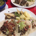 Beef n chicken fajitas