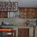 kitchen- where we cook food, nice :)