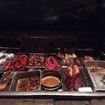 Huge smoker grill
