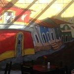 mural en lobby