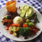 platillo vegetarino