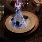 Chilis restaurant- surprise dessert