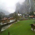 ถ่ายจากรถไฟไป Wengen ขาไป Jungfrau