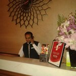 he is Ahmed Shabaa one of consierge staff at crown plaza hotel Deira Dubai he is very friendly..