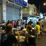 Hawker stalls outside Yeng Keng