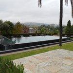 La piscine en automne