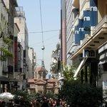Rue piétonne Athènes