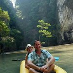 Canoeing at Panak & Hong Islands