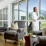 Empfangsbereich SPA - Bio-Garten-Wellness ErholPOL