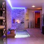 Kneippbecken und Ayurvedische Sauna