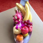 Fresh fruits in the room