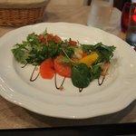 starter - scallop tart