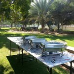 Outdoor Catering for a School Party at Sharjah National Park