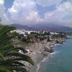 вид на пляж Калахонда