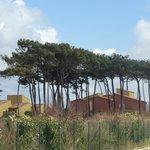 les bungalows près de la mer
