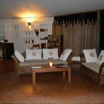 The lounge/bar area
