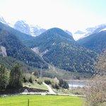 Valle de Pineta - vista desde el caseron