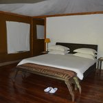 Huge rooms with all the comforts possible