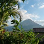 Mt. Arenal from Bedroom