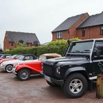 Moody Cow Land Rover in very good company