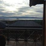 Vistas desde la entrada del hotel