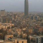 Uitzicht over Amman