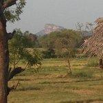 Sigiriya Rock ..a lovely bike ride away