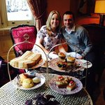 The best afternoon tea!