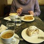 """Budapest"" & ""Napoleon"" with espresso at Ekberg"