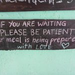 The food is made with LOVE