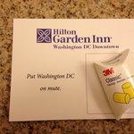 Freundliche Empfehlung des Hotels