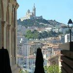 vue de Notre Dame de la Garde