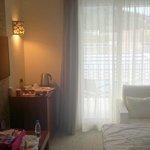 hotel room - living room