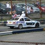 The Stig pre-race