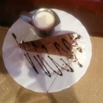 Mint choc cheesecake