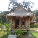 Wooden bungalow (basic but great value)