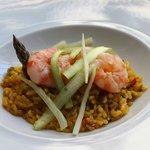 arroz con langostino