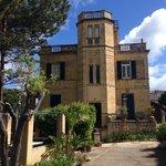 De villa, mooi van buiten en binnen