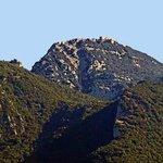 Vista de El Mont, desde la terraza de la habitación.