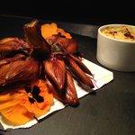 Artichoke and crab dip