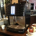 Don't miss the awesome Movenpick coffee