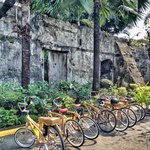 Parked in Fort Santiago