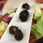 Beautiful truffles for one of the best pastas ever