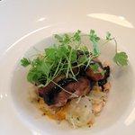 Amazing quail dish