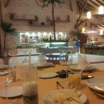 Interior da Churrascaria