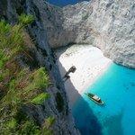 Shipwrack-Bay auf Zakynthos