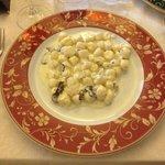 Gnocchi di patate al gorgonzola e tartufo