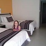 Muy comodas habitaciones