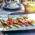 Anchovies Salad