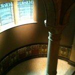 indrukwekkende trapehuis